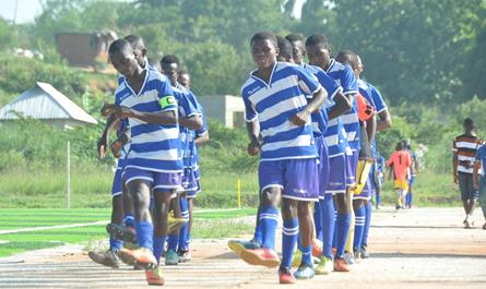 League start in Tanzania