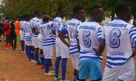 The catch-up game against Dar Star FC ended without goals